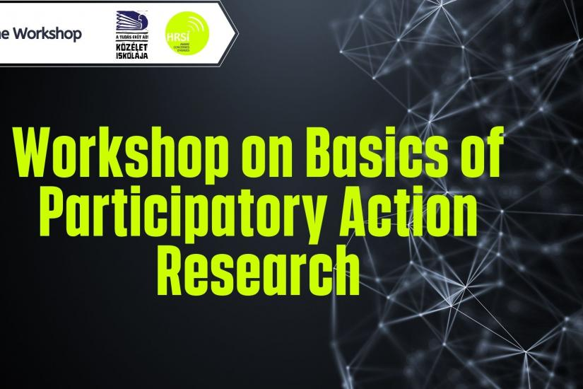 Image says workshop on basics of participatory action research
