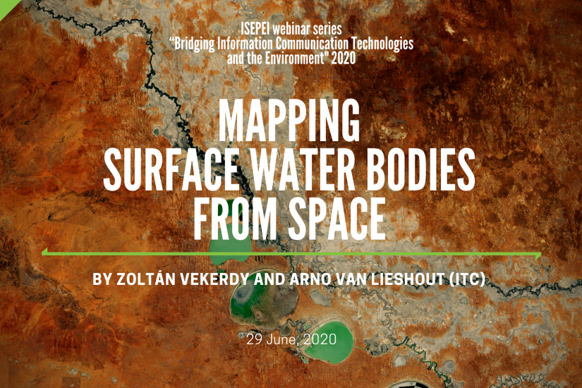 Mapping Surface Water Bodies from Space