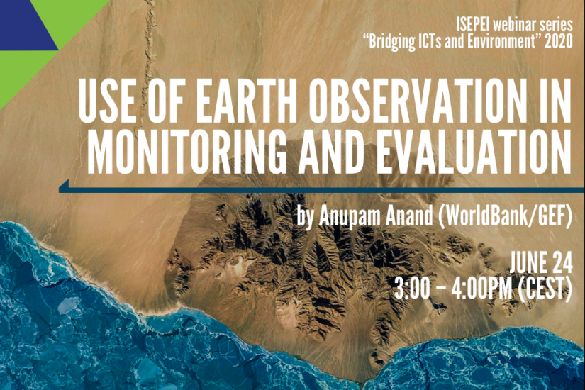Use of Earth Observation in Monitoring and Evaluation