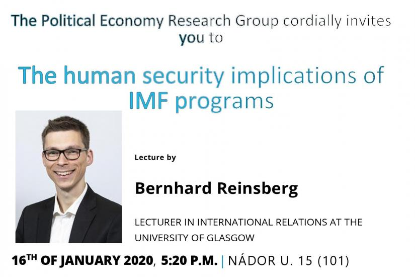 The human security implications of IMF program