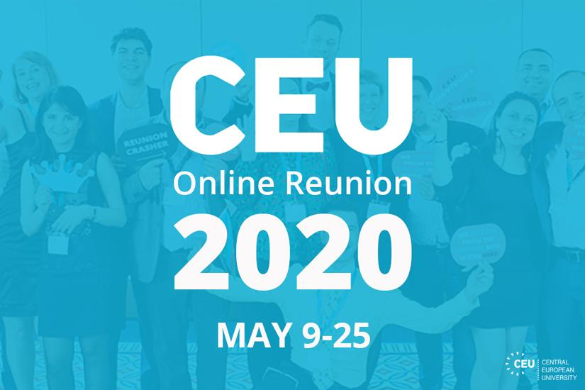 CEU Online Reunion 2020 May 9-25