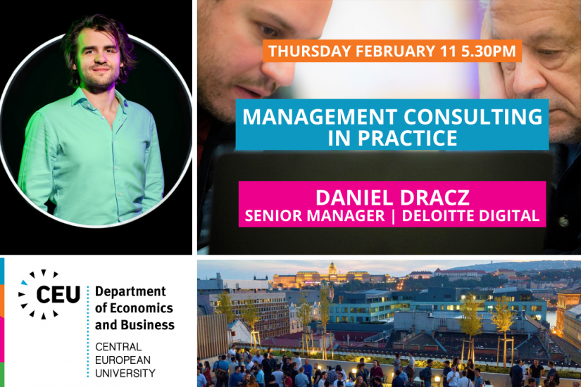 CEU Economics Business Management Consulting in Practice Deloitte Dracz Daniel