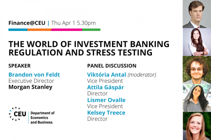 Finance@CEU Morgan Stanley The World of Investment Banking Regulation and Stress Testing