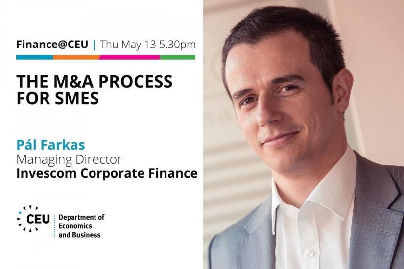Finance@CEU The M&A Process for SMEs Pál Farkas Managing Director Invescom Corporate Finance