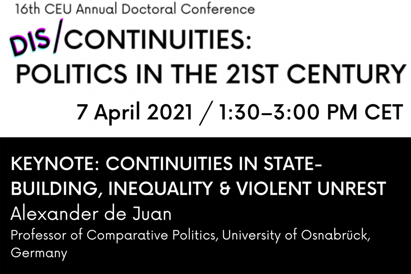 Continuities in State-Building, Inequality, and Violent Unrest