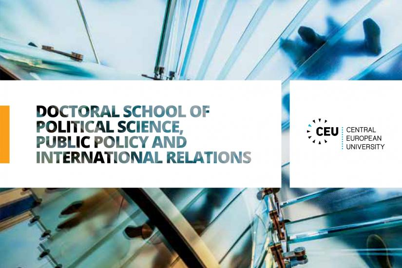 Doctoral School of Political Science, Public Policy and International Relations
